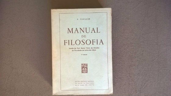 Livro - Manual De Filosofia