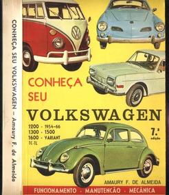 Livro Digital Conheça Seu Vw Fusca, Variant, Brasilia, Kombi