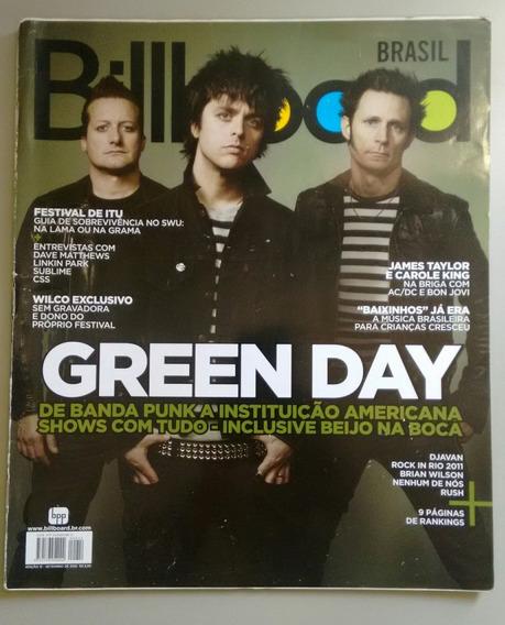 Revista Billboard 12 Green Day James Taylor Patofu Y061