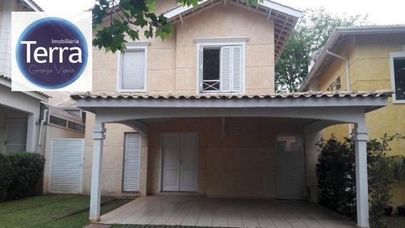 Casa Com 4 Dormitórios À Venda, 172 M² Por R$ 950.000 - Reserva Granja Viana - Granja Viana - Ca2004