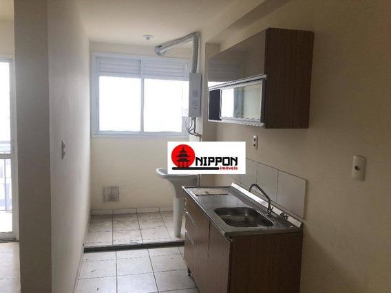 Apartamento Com 2 Dormitórios Para Alugar, 53 M² Por R$ 1.500/mês - Vila Paulista - Guarulhos/sp - Ap1584