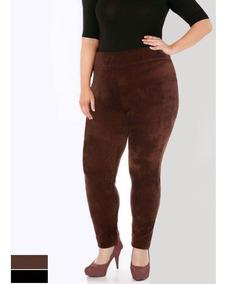Legging Veludo Plus Size Grossa 46 Ao 54 Roupas Femininas