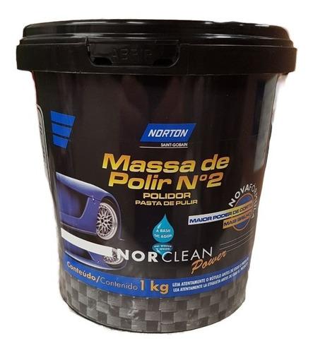 Imagen 1 de 3 de Masilla/pasta De Pulir Nº 2 Norton Norclean Power 1 Kg Gamix