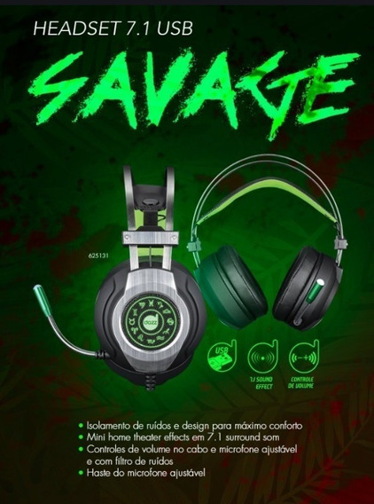 Headphone Gamer Dazz Savage