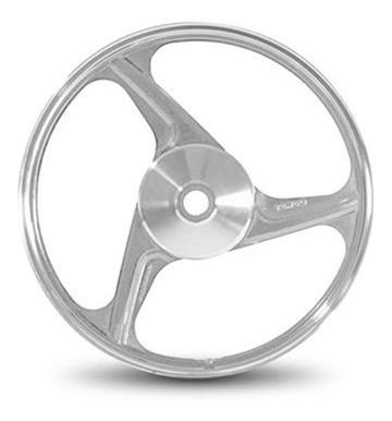 Roda Aluminio Dianteira Temco Centauro Cinza Ybr 125 Ks