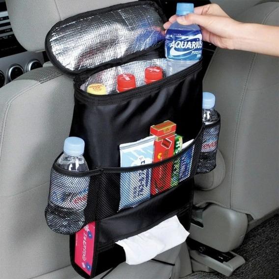 Bolsa Térmica Cooler Organizador De Carro Taxi Uber Veiculo
