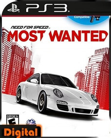 Need Speed Most Wanted Carros Ps3 Digital Barato Promoção