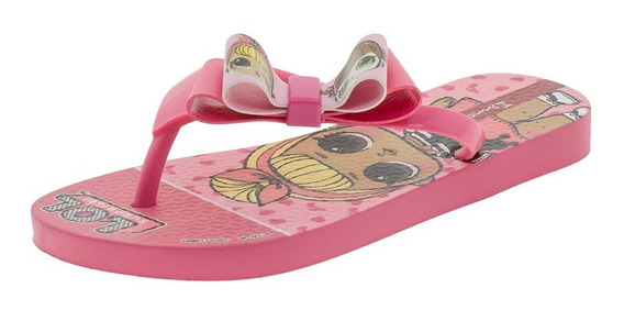 Chinelo Infantil Feminino Lol Surprise Ipanema - 26350 Rosa