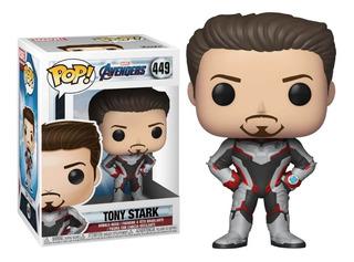 Funko Pop Tony Stark 449 Avengers Endgame Marvel Mf