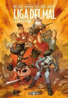 Comic Liga Del Mal - Autores Varios