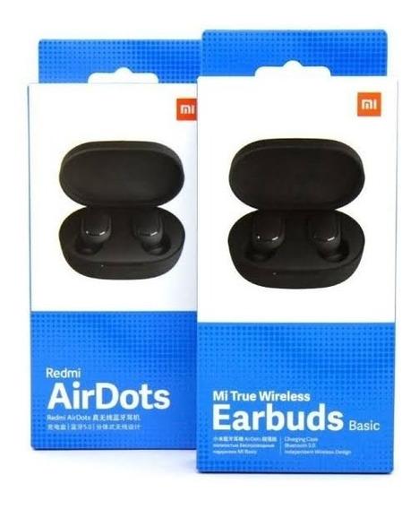 Promoção Fone Xiaomi Mi Airdots/earbuds Global Original 2020