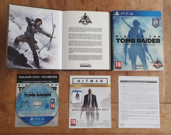 Rise Of Tomb Raider Edição De Colecionador Mídia Física Ps4