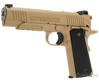 Swiss Arms Co2 Colt Sa1911 Military Full Metal + 200bbs