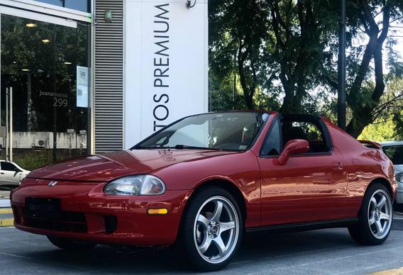 Gd Motors Honda Crx Del Sol 1996 Impecable Sin Detalles