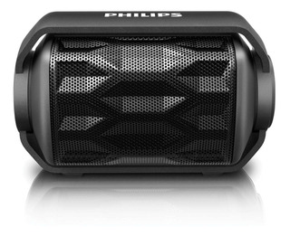 Parlante Philips Bt2200b Negro Wireless Portatil Bluetooth