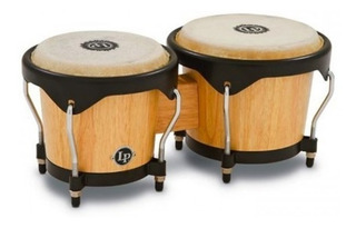 Bongo Madera Lp Latin Percussion Lp601nyaw City Series Natur
