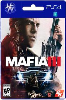 Mafia 3 Para Ps4 Garantia Entrega Inmediata