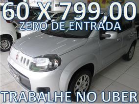 Fiat Uno 1.0 Evo Vivace Flex 5p Unico Dono Trabalhe No Uber