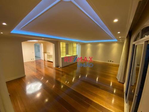 Imagem 1 de 30 de Apartamento Com 4 Dormitórios Para Alugar, 340 M² Por R$ 3.900,00/mês - Vila Andrade - São Paulo/sp - Ap0754