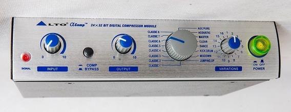 Compressor Alto Alphacomp - 2 Canais-comp Bipass