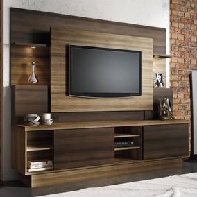 Estante Home Para Tv Até 55 Polegadas Aron Linea J