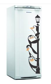 Adesivo Decorativo Geladeira Pinguim Madagascar Cozinha