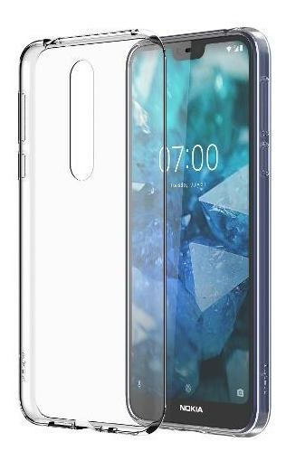 Funda Clear Transparente Nokia 7.1