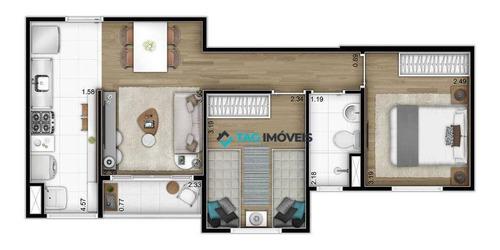 Imagem 1 de 14 de Apartamento Para Venda Com 45 Metros Quadrados No Jardim São Vicente Em Campinas - Sp. - Ap2435