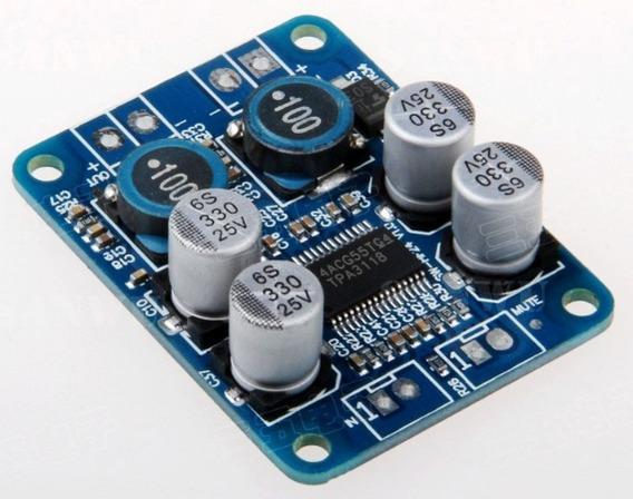 Placa Amplificador 60w Rms Módulo Potência Caixa Ativa Diy