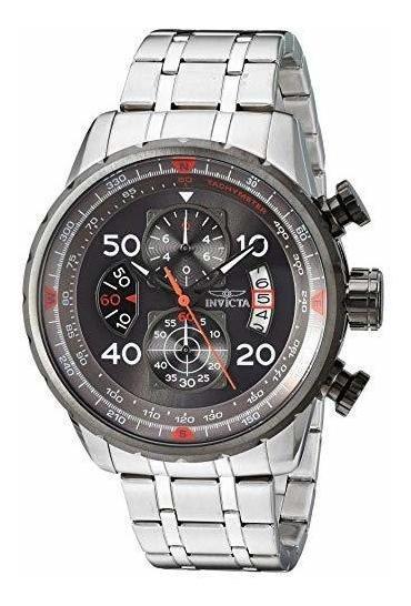 Invicta 17204aviator Acero Inoxidable Reloj Casual