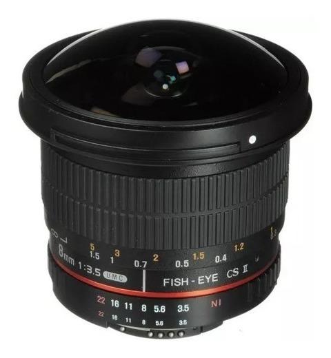 Fisheye Rokinon 8mm F3.5 - Sem Detalhes