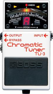 Pedal Afinador Boss Tu-3 Chromatic Tuner Musica Pilar