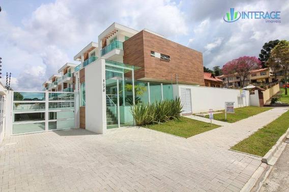 Sobrado Residencial À Venda, Mercês, Curitiba. - So0110