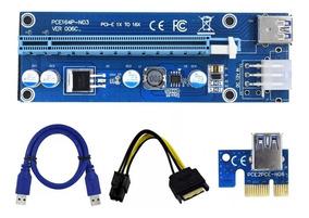 Cabo Riser Pci To 16x Mini Pci-e 60cm Usb Cable