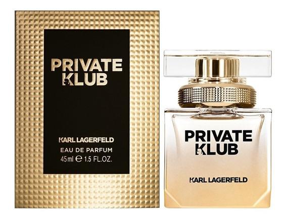 Perfume Private Klub Karl Lagerfeld 45 Ml - Selo Adipec