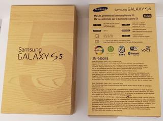 Celular Galaxy S5 G900 Preto Sem Detalhes C/caixa Completa