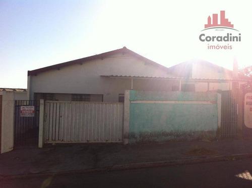 Imagem 1 de 5 de Casa Residencial À Venda, São Benedito, Americana. - Ca1250