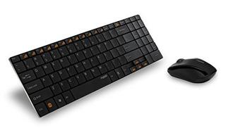 Combinaciones De Teclado Y Mouse,arion Rapoo 9060 2.4g 5..