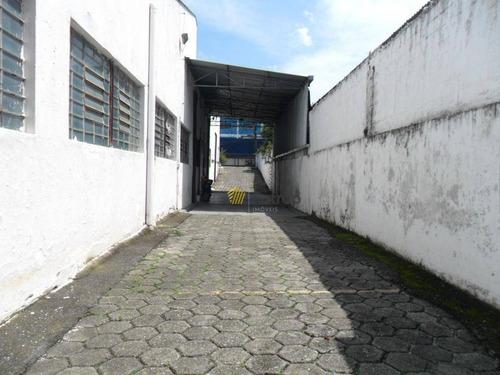 Galpão Para Alugar, 1220 M² Por R$ 19.800,00/mês - Planalto - São Bernardo Do Campo/sp - Ga0237