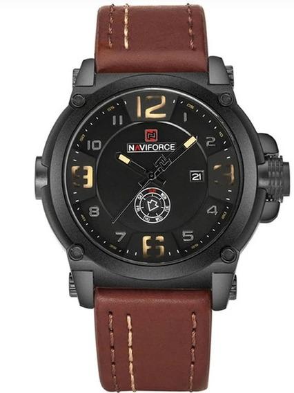 Relógio Luxuoso Original Importado Militar Naviforce
