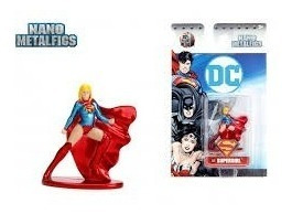 Supergirl Nano Metalfigs Jada Metalicos Dc Collectoys