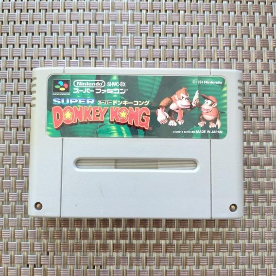 Super Donkey Kong - Snes Famicom - Original