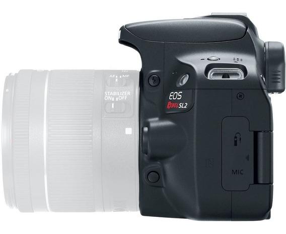 Nova Câmera Canon Sl2 Corpo C/ Nf-e Garantia Revenda Canon