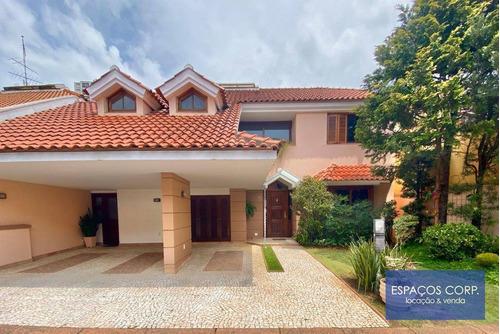Casa Com 4 Dormitórios À Venda, 424m²  - Cidade Jardim - São Paulo/sp - Ca0067