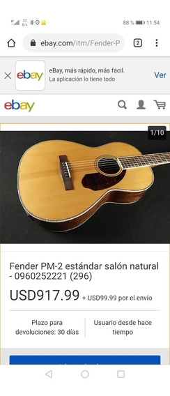 Guitarra Fender Pm2