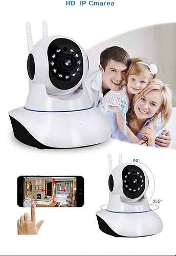 Camara Ip Inalambrica Wifi Robotica Funciona Alarma