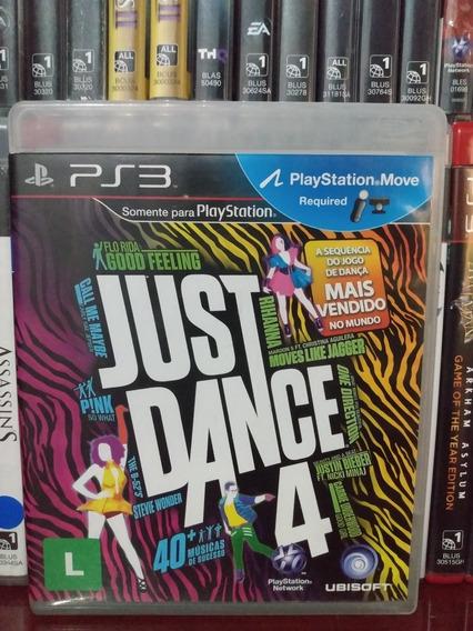 Just Dance 4 Original Ps3 | Parcelamento Sem Juros