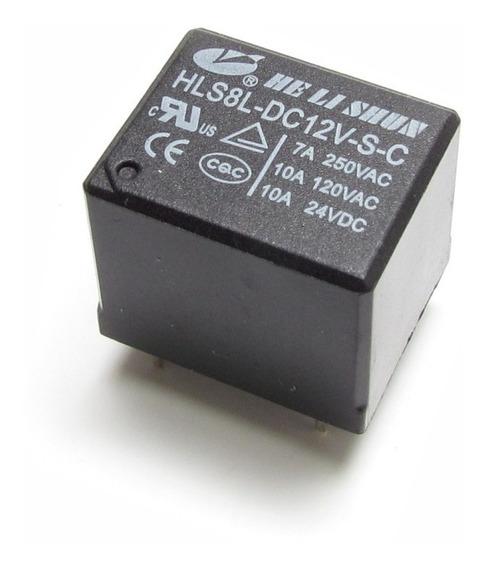 15 Rele 12v - 01 Contato - 10a Hlsbldc12vsc