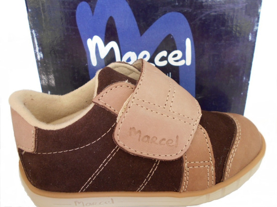 Zapatillas Marcel Originales Gamuza Y Cuero N° 26