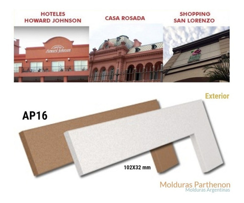 Molduras Para Exterior Ap16 La Mejor Marca/calidad